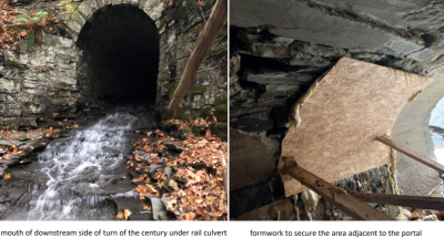 Rescuing a Turn of the Century Culvert under a New York Rail Line