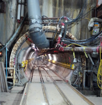 Tunnel Boring and Grouting